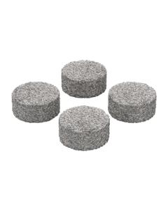 Ces tampons à concentrés s'insèrent dans des capsules de dosage et permettent de vaporiser des cires et des huiles